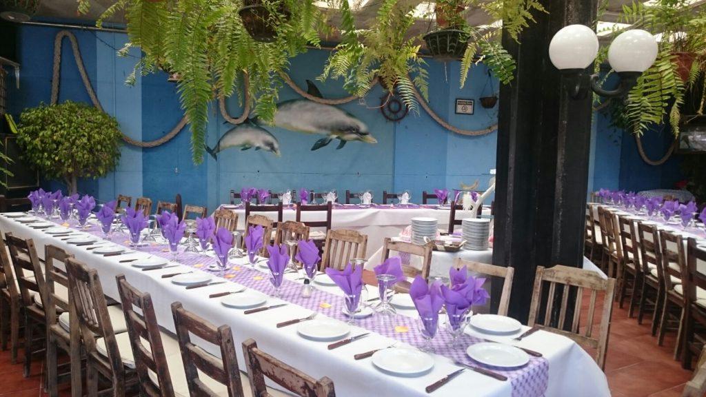 Terraza Restaurante Grill Playa de Vargas